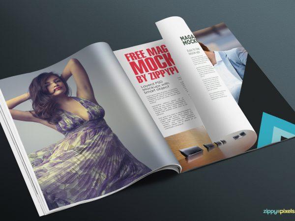 Free-magazine-page-mockup