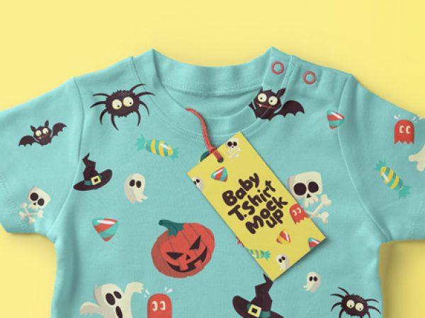baby-child-enfant-t-shirt-clothe-fabric-psd-mockup