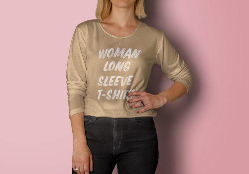 woman-long-sleeve-tshirt-brand-psd-mockup